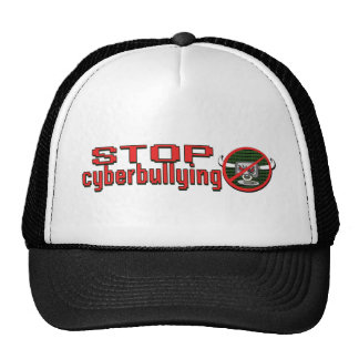 Stamp Out Cyberbullying Trucker Hat