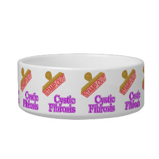 Stamp Out Cystic Fibrosis Bowl