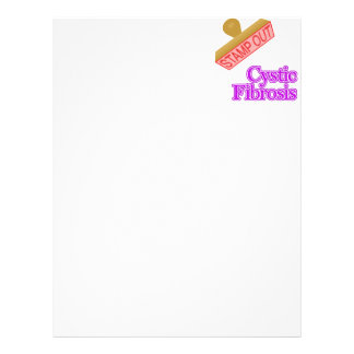 Stamp Out Cystic Fibrosis Letterhead