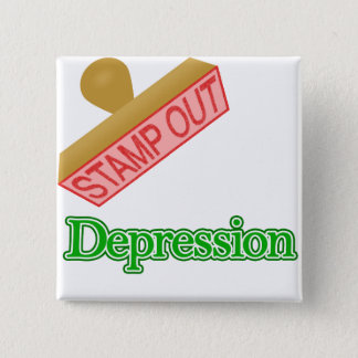 Stamp Out Depression Pinback Button