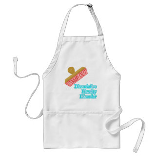 Stamp Out Dissociative Identity Disorder Adult Apron