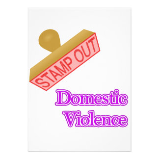 Stamp Out Domestic Violence Announcement