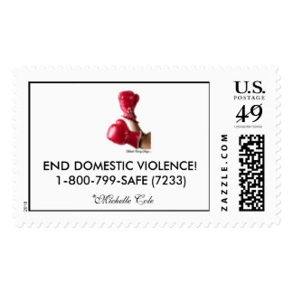 STAMP OUT DOMESTIC VIOLENCE!