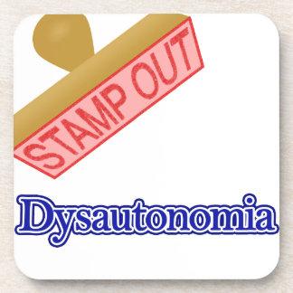 Stamp Out Dysautonomia Beverage Coaster