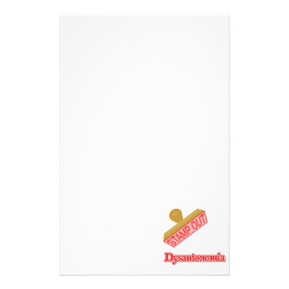 Stamp Out Dysautonomia Stationery