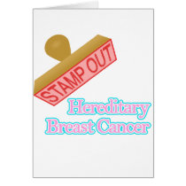 Stamp Out Hereditary Breast Cancer Card