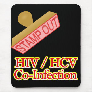 Stamp Out HIV -  HCV Co-Infection Mouse Pad
