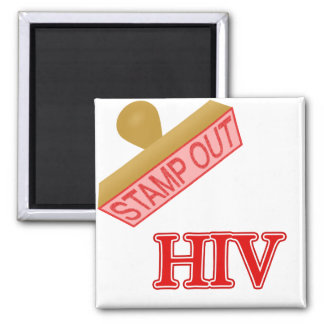 Stamp Out HIV Magnet
