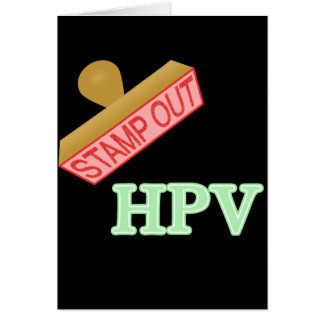 Stamp Out HPV Stationery Note Card