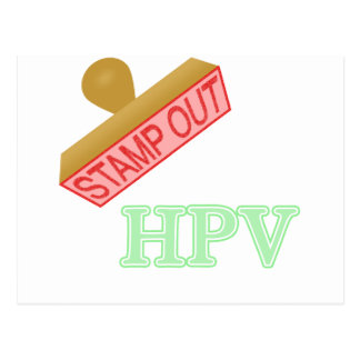 Stamp Out HPV Postcard