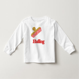 Stamp Out Huffing Toddler T-shirt