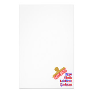 Stamp Out Hypo Plastic Left Heart Syndrome Stationery