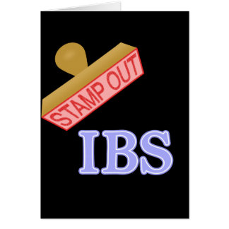 Stamp Out IBS Card