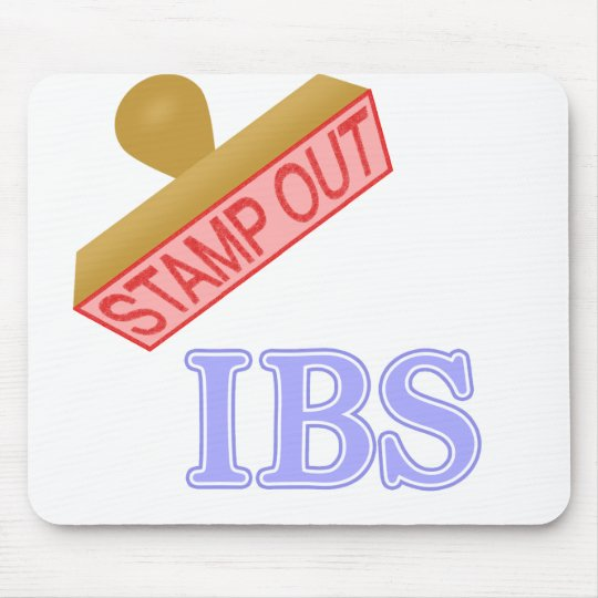Stamp Out IBS Mouse Pad