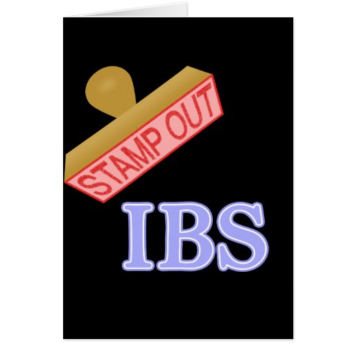 Stamp Out IBS Stationery Note Card