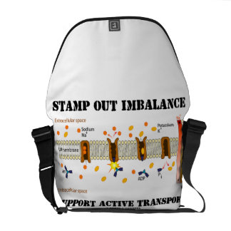 Stamp Out Imbalance Supoort Active Transport Courier Bag