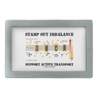 Stamp Out Imbalance Support Active Transport Belt Buckle