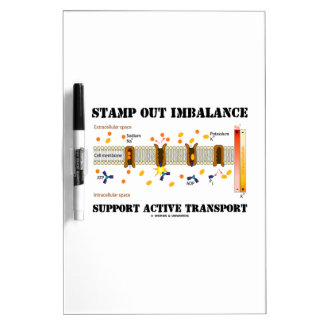 Stamp Out Imbalance Support Active Transport Dry-Erase Whiteboards