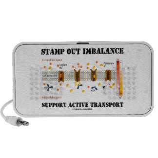 Stamp Out Imbalance Support Active Transport Mini Speaker