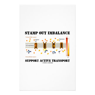 Stamp Out Imbalance Support Active Transport Stationery