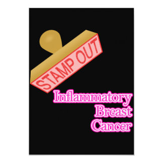 Stamp Out Inflammatory Breast Cancer Invitation