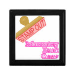 Stamp Out Inflammatory Breast Cancer Jewelry Box