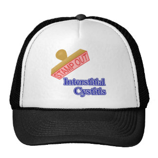 Stamp Out Interstitial Cystitis Trucker Hat