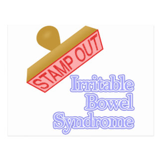 Stamp Out Irritable Bowel Syndrome Postcard