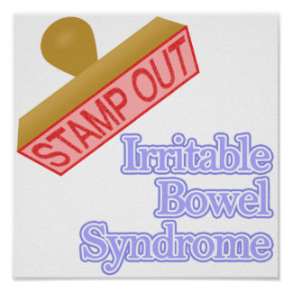Stamp Out Irritable Bowel Syndrome Print