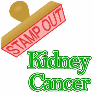Stamp Out Kidney Cancer Acrylic Cut Outs