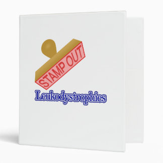 Stamp Out Leukodystrophies Binder