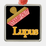 Stamp Out Lupus Christmas Ornaments