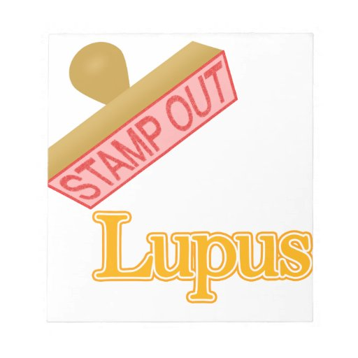 Stamp Out Lupus Notepad