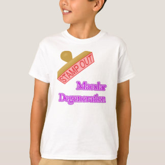 Stamp Out Macular Degeneration T-Shirt