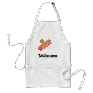 Stamp Out Melanoma Adult Apron