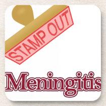 Stamp Out Meningitis Beverage Coaster
