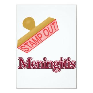 Stamp Out Meningitis Card