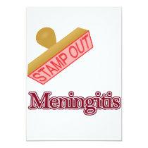 Stamp Out Meningitis Invitation