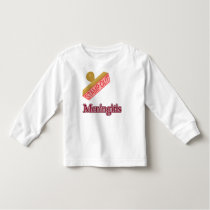 Stamp Out Meningitis Toddler T-shirt
