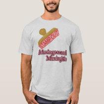 Stamp Out Meningococcal Meningitis T-Shirt