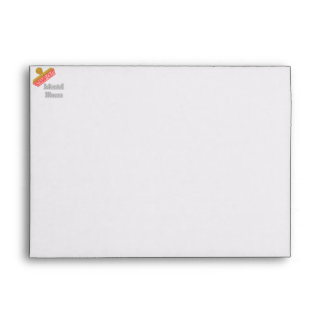 Stamp Out Mental Illness gray Envelopes