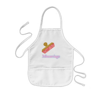 Stamp Out Miscarriage Kids' Apron