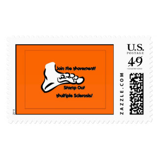 """Stamp Out Multiple Sclerosis"" Postage"