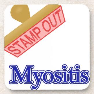 Stamp Out Myositis Beverage Coaster