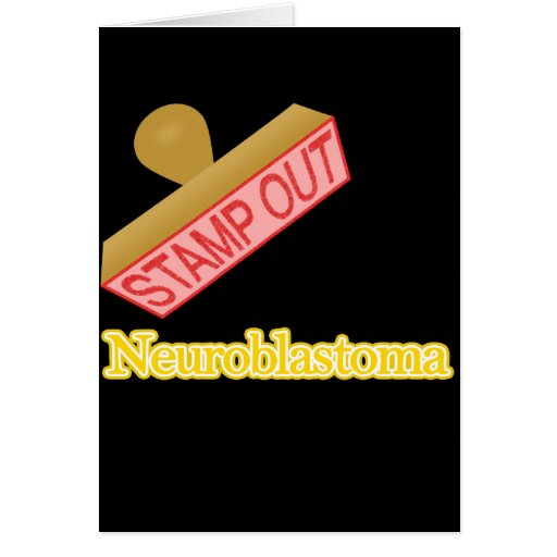 Stamp Out Neuroblastoma Greeting Cards
