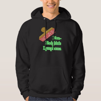 Stamp Out Non-Hodgkin's Lymphoma Hoodie