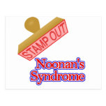 Stamp Out Noonan's Syndrome Postcard