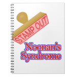 Stamp Out Noonan's Syndrome Spiral Notebook