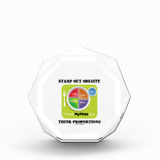 Stamp Out Obesity Think Proportions (MyPlate) Awards