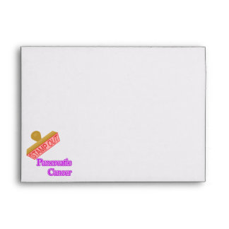 Stamp Out Pancreatic Cancer Envelope